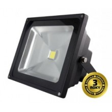LED reflektor SMD 30W čierny, 1xCOB LED WM-30W-E