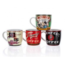 BANQUET hrnček Retro Coffee assorted 60JG003
