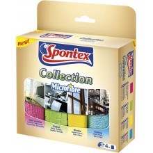 SPONTEX Collection mikroutierka 4 ks