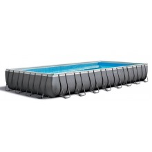 INTEX ULTRA Rectangular FRAME POOLS SET 9.75 x 4.88 x 1.32 26374GN