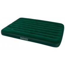 INTEX DOWNY AIRBED FULL Nafukovacia posteľ s pumpou 137 x 191 cm 66928