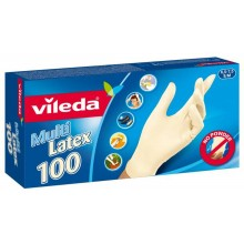 "VILEDA Rukavice Multi Latex 100ks ""S/M"" 146087"