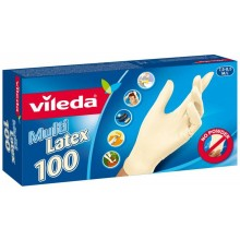 "VILEDA Rukavice Multi Latex 100ks ""M/L"" 146088"