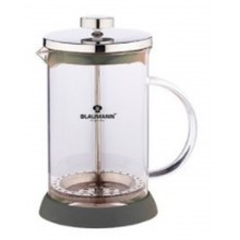 BLAUMANN French Press Kanvička na čaj a kávu 350 ml, šedá BL-1441