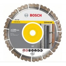 BOSCH Diamantový rezací kotúč Best for Universal 230x22, 33mm, 2608603633