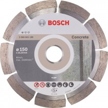 BOSCH Standard for Concrete Diamantový deliaci kotúč, 150 x 22,23 x 2 x 10mm 2608602198