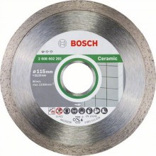 BOSCH Standard for Ceramic Diamantový deliaci kotúč, 115 x 22,23 x 1,6 x 7 mm 2608602201