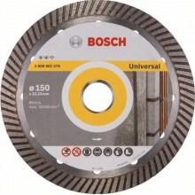 BOSCH Expert for Universal Turbo Diamantový deliaci kotúč, 150x22,23x2,2x12mm 2608602576