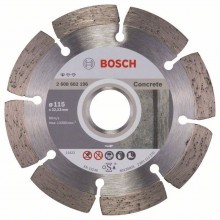 BOSCH Diamantový rezací kotúč Standard for Concrete, 115 mm 2608602196