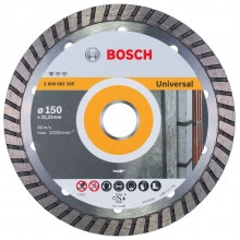 BOSCH Diamantový rezací kotúč Standard for Universal Turbo, 150mm 2608602395