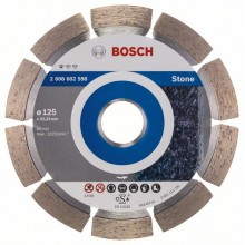 BOSCH Diamantový rezací kotúč Standard for Stone, 125mm 2.608.602.598