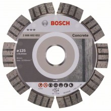 BOSCH Diamantový deliaci kotúč Best for Concrete, 125 mm 2608602652