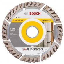 BOSCH Standard for Universal Diamantový rezací kotúč 125 x 22.23mm, 2608615059