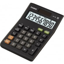 CASIO MS 10 BS (TAX + EXCHANGE) Kalkulačka 45010118