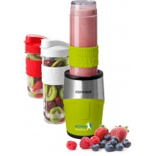 CONCEPT SM3386 SMOOTHIE MAKER Active 500W, 2 x 570ml + 400ml, zelená sm3387