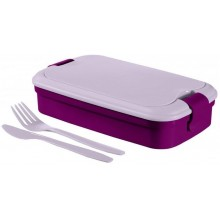 CURVER LUNCH & GO box 32 x 13 x 7 cm fialový 00768-B35