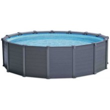 INTEX GRAPHITE GRAY PANEL POOL 4,78 x 1,24 m (set) 26382NP
