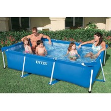 INTEX Bazén Rectangular Frame Pool, 2,6 x 1,6 x 0,65 m, 28271