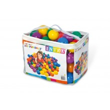 INTEX FUN BALLZ Loptičky do bazéna 8 cm, 100 ks 49600