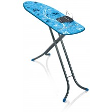 LEIFHEIT Žehliaca doska Air Board M Shoulder Fit 120x38 cm grey blue 72443