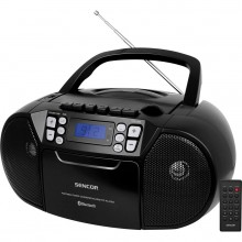 SENCOR SPT 3907 B rádio s CD / USB / BT / KAZE 35050782