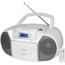 SENCOR SPT 3907 W rádio s CD / USB / BT / KAZE 35050783