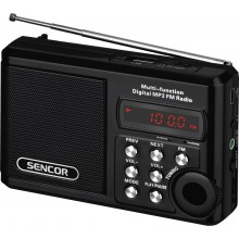 SENCOR SRD 215 B Rádio s USB / MP3 35039901