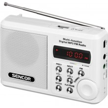 SENCOR SRD 215 W Rádio s USB / MP3 35039902