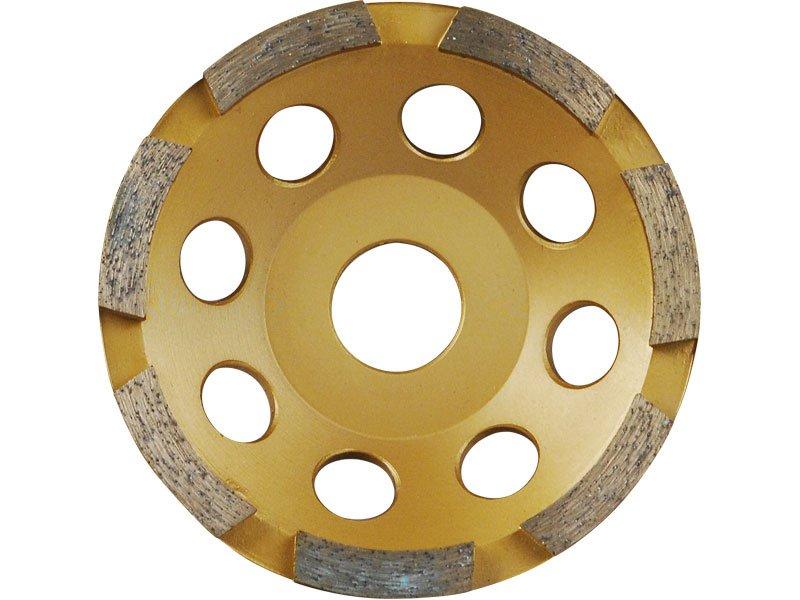 EXTOL PREMIUM kotúč diamantový brúsny 125x22,2mm, JEDNORADOVÉ 8803112