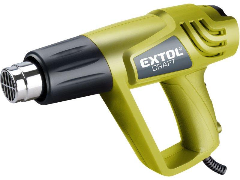 EXTOL CRAFT pištoľ teplovzdušná, 2000 / 1000W, 550/350 ° C 411013