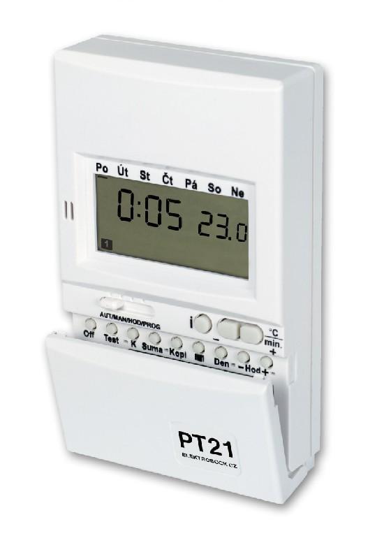VÝPREDAJ ELEKTROBOCK PT21 Priestorový digitálny termostat BEZ ORIG. OBALU