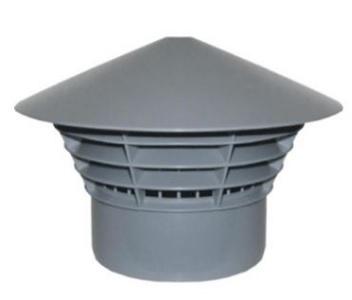 MIDAS Ventilačná hlavica - na rúru DN 110 VHPP11