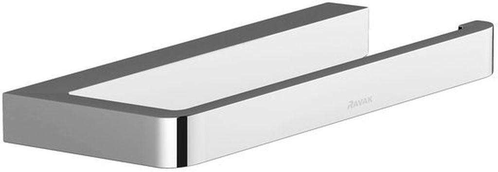 RAVAK 10 ° TD 400 Držiak na WC papier, chróm X07P329